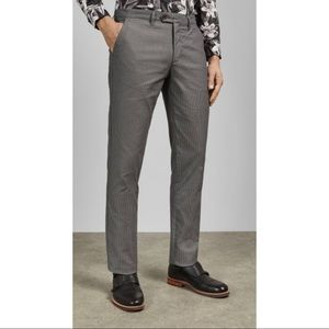 Ted Baker London STELIM Slim fit textured trousers
